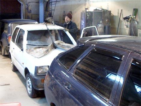 Установка и замена лобового стекла ВАЗ, ИЖ, ОКА.  Не только случайный удар по лобовому стеклу может послужить...